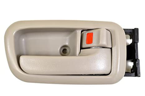 Fawn PT Auto Warehouse TO-2950E-FR Beige Inside Interior Inner Door Handle Passenger Side Front - Regular//Access Cab