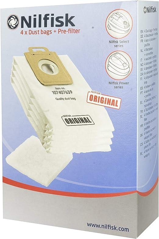 Nilfisk 107407639 accesorio y suministro de vacío Bolsa para el ...