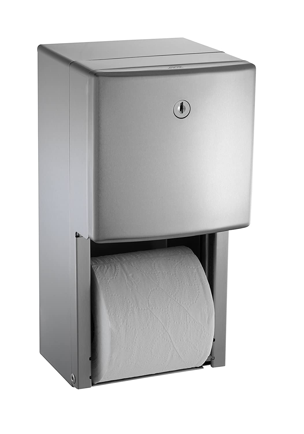 ASI 0030 Surface Mounted Twin Hide-A-Roll Toilet Tissue Dispenser ...
