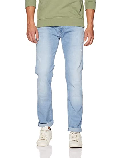 Buy Beat London By Pepe Jeans Men S Slim Fit Jeans Pm204759ma12 Green Used 32w X 32l At Amazon In