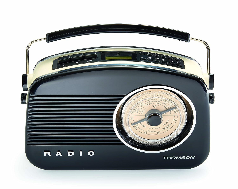 Thomson DAB03 - Radio sintonizador DAB, color negro: Amazon.es: Electrónica