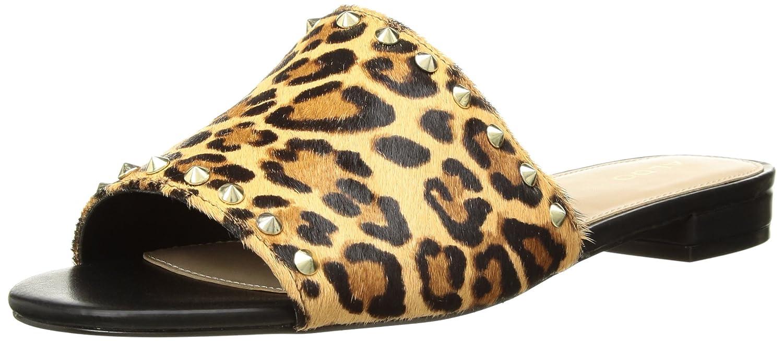 ALDO Women's Thoalle Slide Sandal B0791S2PS2 5 B(M) US|Brown Print