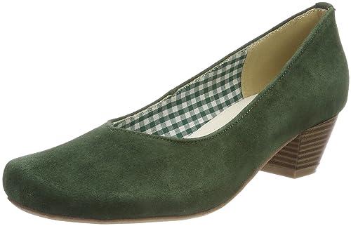 3005706, Zapatos de Tacón con Punta Cerrada para Mujer, Beige (Taupe 066), 40 EU Hirschkogel