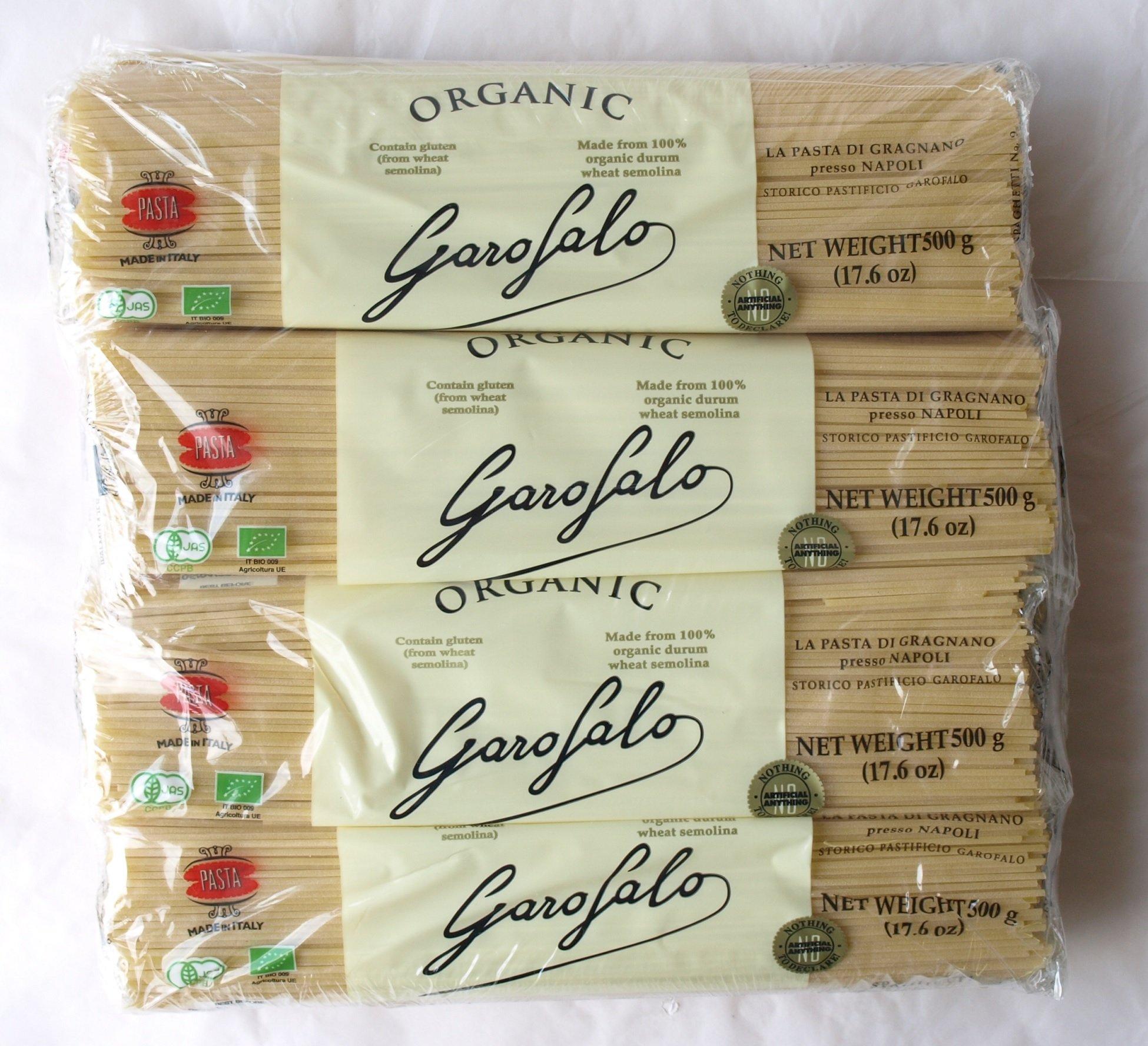 Garofalo, ORGANIC Spaghetti 8.8 lbs. (Pack of 8)
