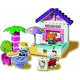 BIG PlayBIG 57029 Bloxx Hello Kitty - Bar de playa de juguete con figuras