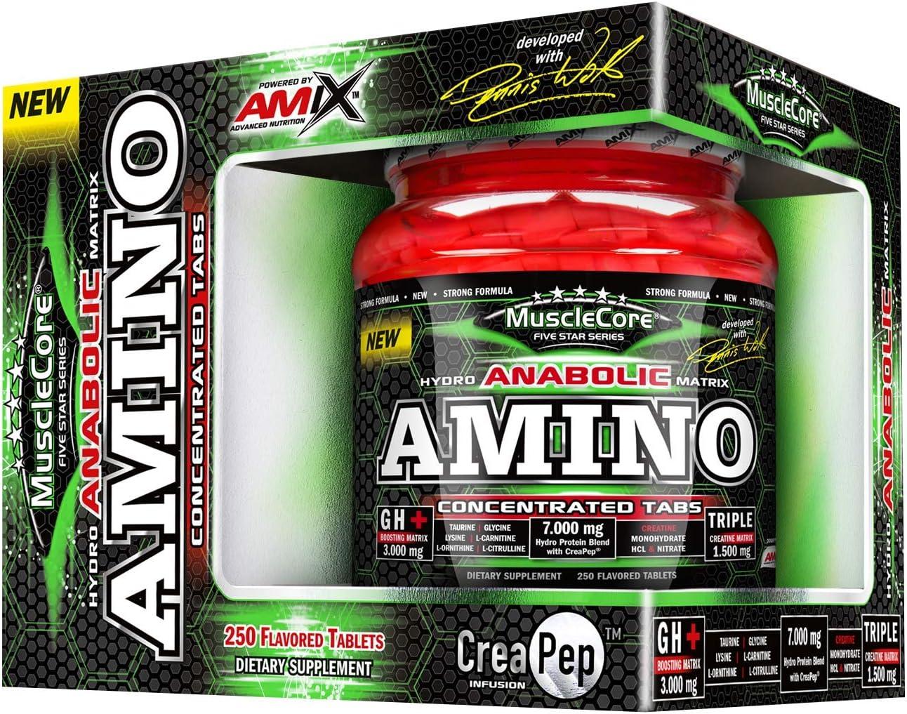 ANABOLIC AMINO WITH CREAPEP 250 TABL