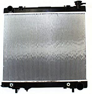 New Radiator For 2005-2010 Dodge Dakota And 2006-2009 Mitsubishi Raider All Cab Types, Auto Trans, Heavy Duty Cooling MI3010212