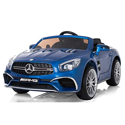 Amazon Com Mercedes Ride On Car Electric Power Wheels For Kids