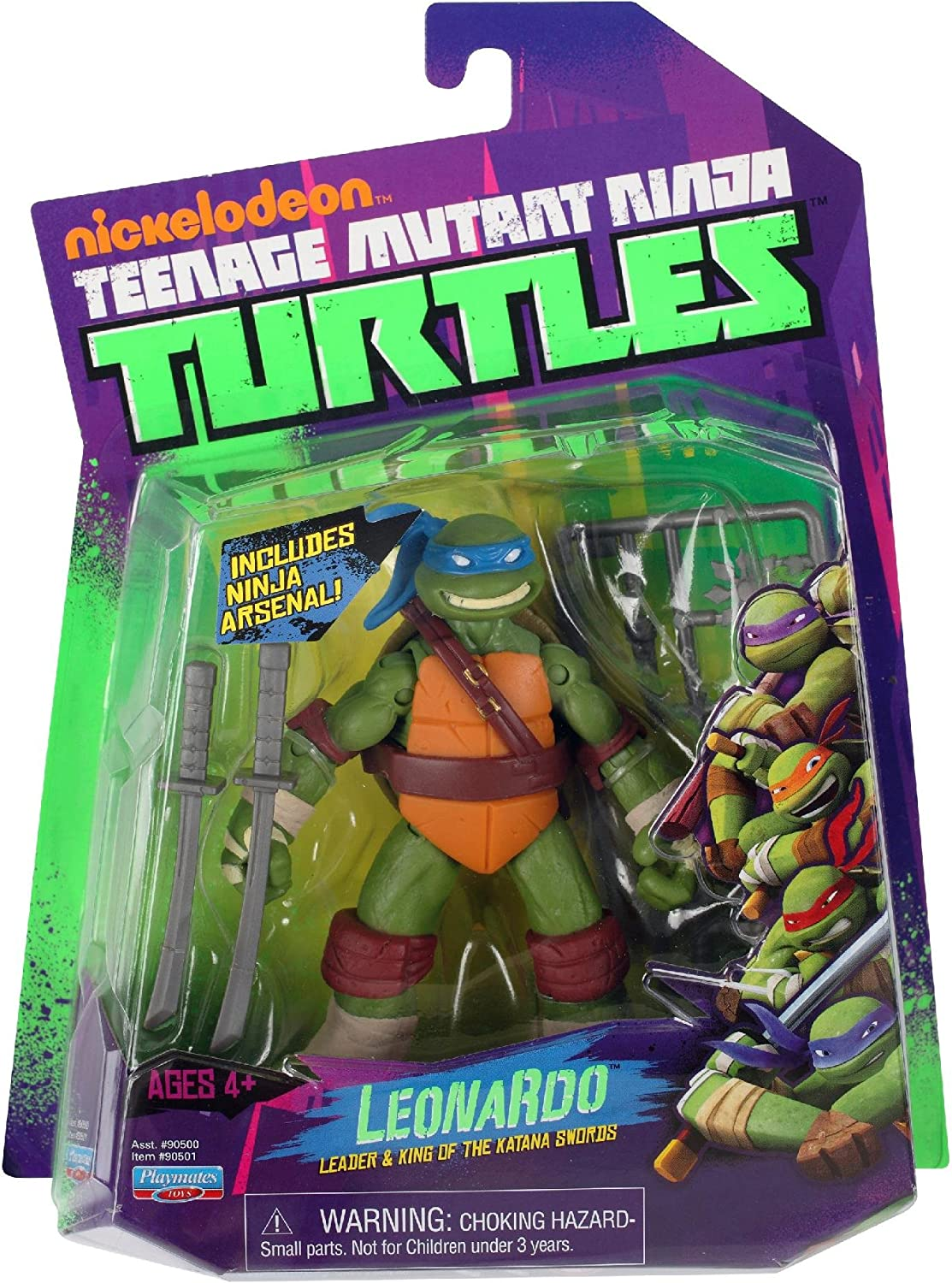 Amazon Com Teenage Mutant Ninja Turtles Leonardo Toys Games