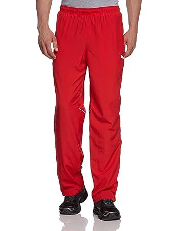 f100fa3350b4 Puma Men s Tracksuit Bottoms with VFB Stuttgart Logo Woven team regal  red-white Size