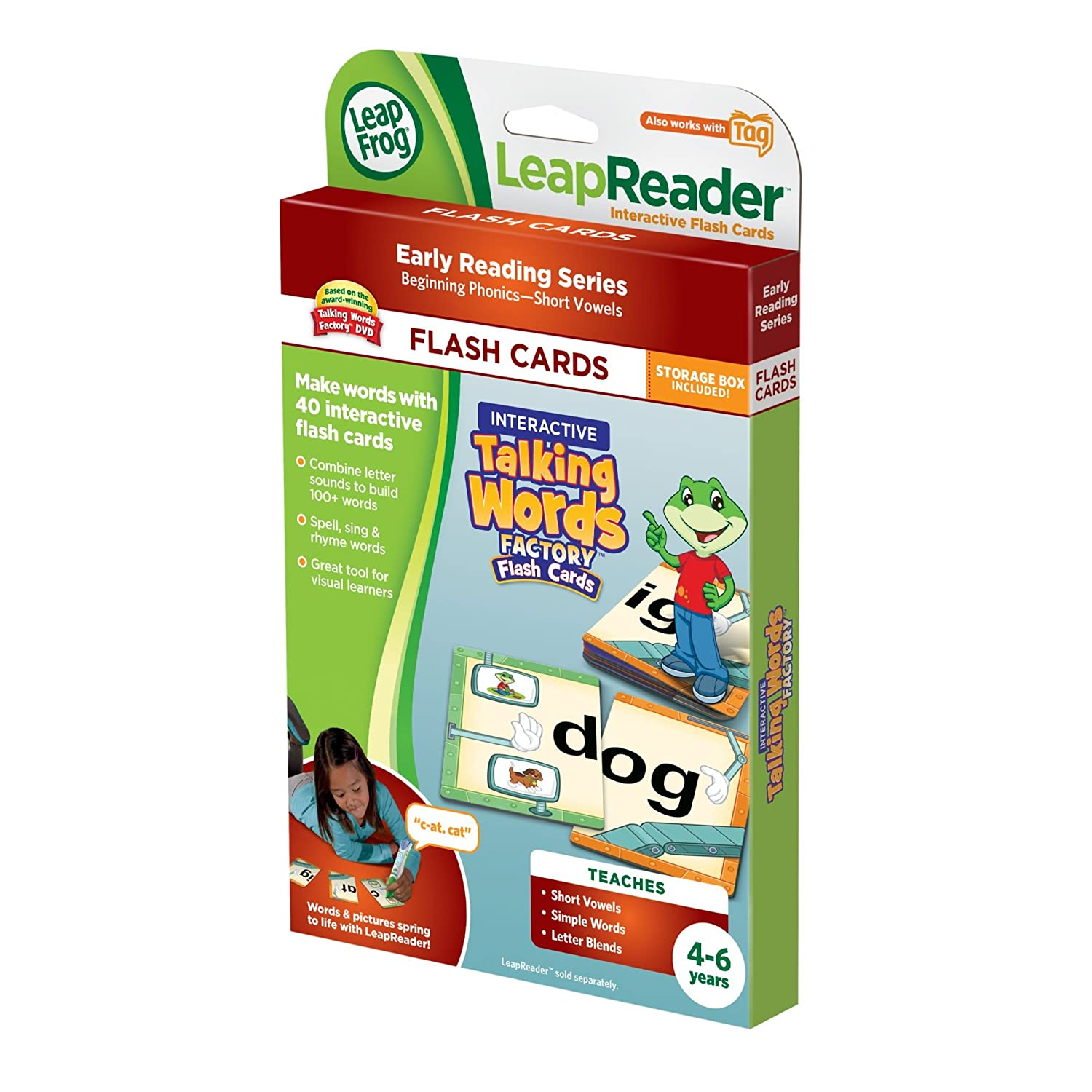 Amazon Leapfrog Leapreader Interactive Talking Words Factory