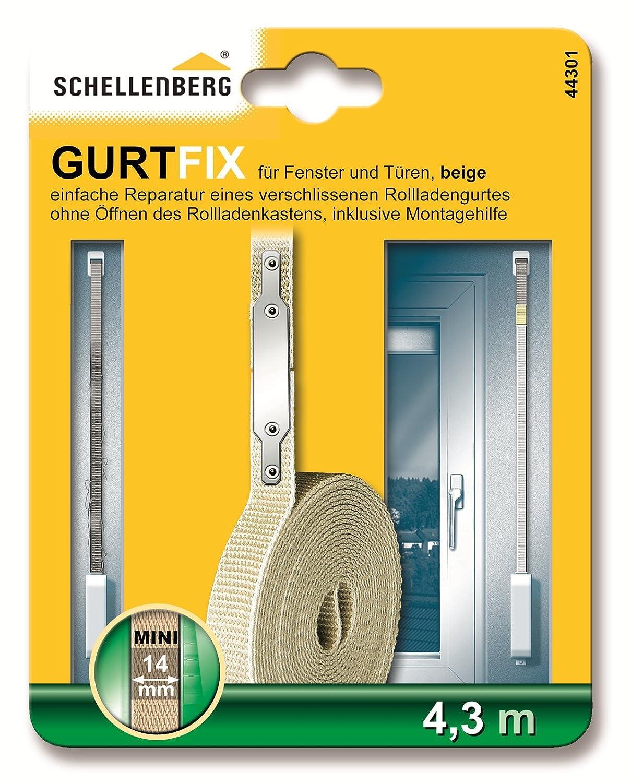 Sehr Schellenberg Gurtfix | Rolladengurt Reparaturset MINI 14 mm | 4,3 PI52