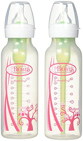 Amazon.com: Dr. Brown s SN de 8 oz Pink Deco Botellas y ...