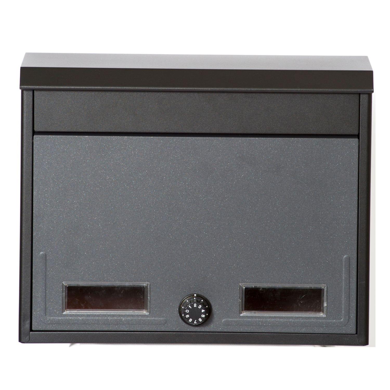 ケイジーワイ工業 KGY 郵便受け箱 メールボックス スタイルポスト ブラックグレー SG-2L B0177MDZ6Y 12941 ブラックグレー ブラックグレー