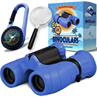 Binoculars for Kids - Powerful Magnification of 8 X 21 - The Perfect Toy for Little Adventurers - Extensive Set…