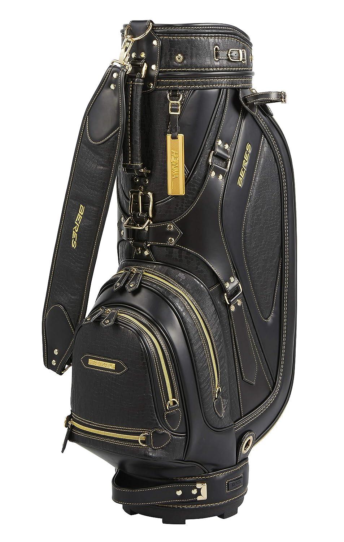 本間ゴルフ キャディーバッグ BERES CB1905 メンズ ブラック 9   B07MW5ZVGM