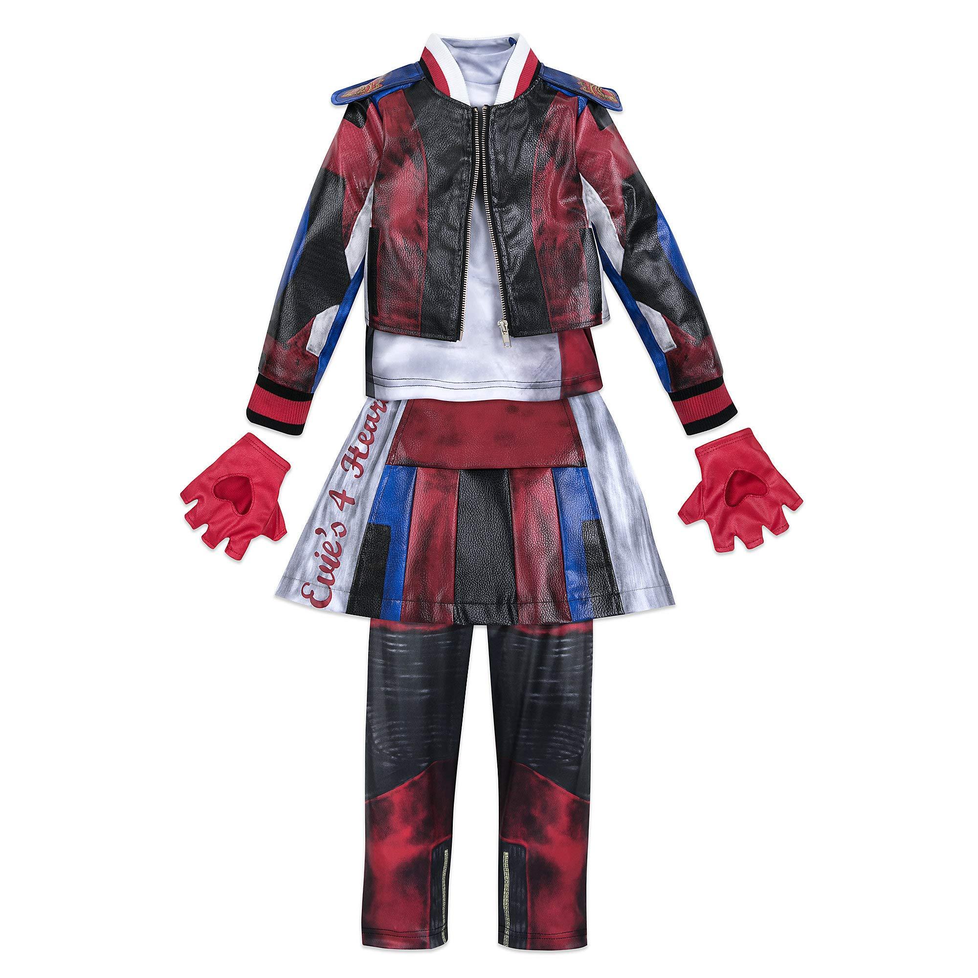 Disney Evie Costume for Kids - Descendants 3 Size 7/8 Blue