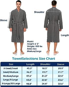 Towelselections Men S Robe Turkish Cotton Terry Cloth Kimono Bathrobe X Small Small Arona At Amazon Men S Clothing Store