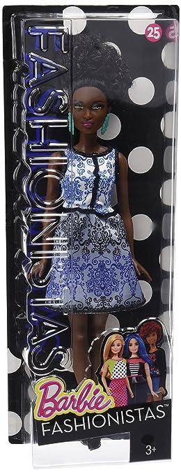 Barbie Fashionistas Doll 25 Blue Brocade   Petite by Barbie