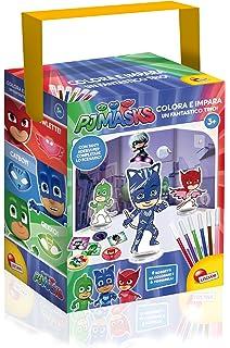 Lisciani Giochi 62898 – PJ Masks, Colorea y aprende, un fantástico Trío
