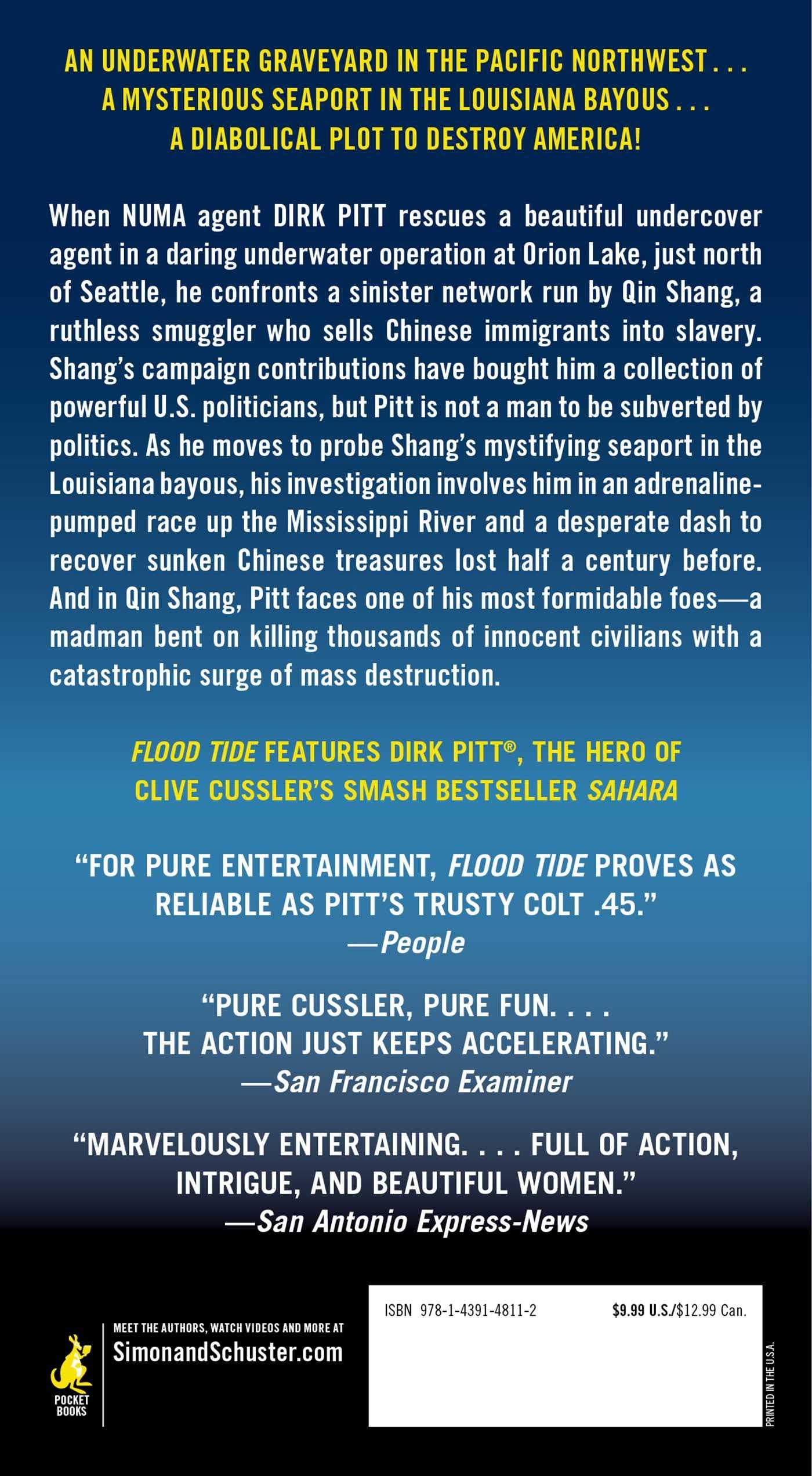 Amazon.com: Flood Tide (Dirk Pitt, No. 14) (9781439148112): Clive ...
