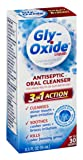 Gly-Oxide Liquid Antiseptic Oral Cleanser | Soothes Mouth Irritation| 0.5 FL OZ