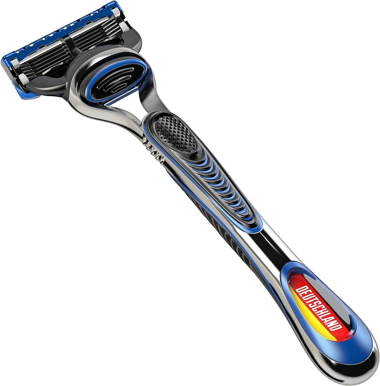 Gillette Fusion ProGlide - Maquinilla de afeitar, edición especial fútbol: Alemania: Amazon.es: Salud y cuidado personal