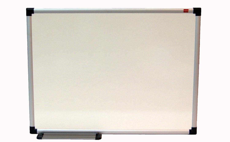 Nobo - Pizarra blanca de limpieza en seco, marco de aluminio ...
