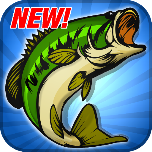 Master Bass Angler: Free Fishing Game