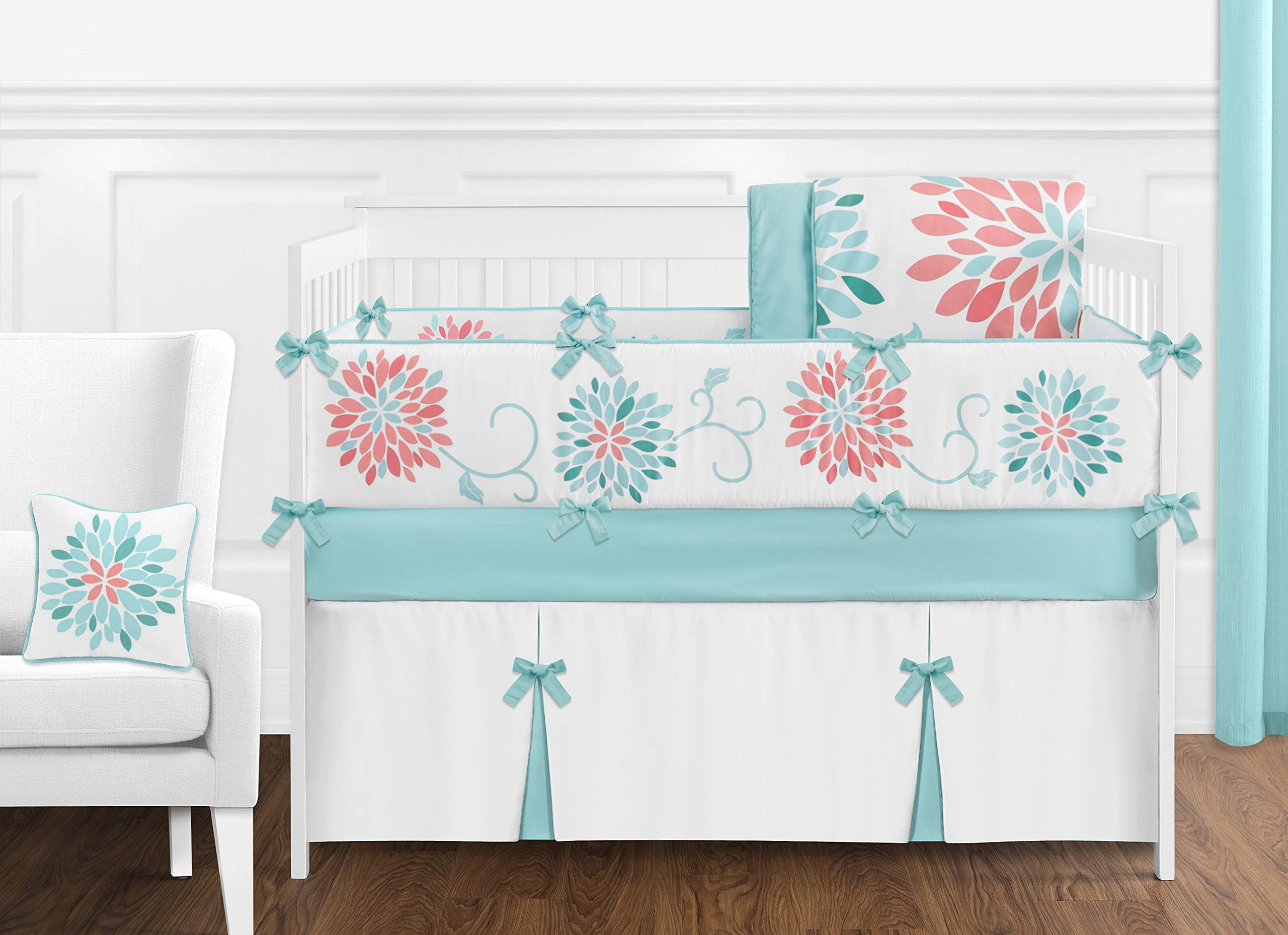 Amazon Com Sweet Jojo Designs Musical Baby Crib Mobile