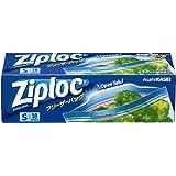 ジップロック フリーザーバッグ Sサイズ 18枚入 ジッパー付き保存袋 冷凍・解凍用 (縦12.7cm×横17.7cm)