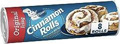 Pillsbury Cinnamon Rolls, Original Icing, 12.4 oz, 8 ct