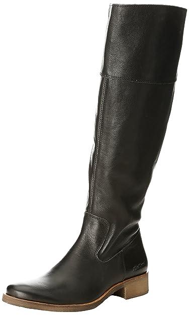 e80e048dff79c3 Kickers Longboots, Bottes Classiques femme, Noir, 36 EU: Amazon.fr ...