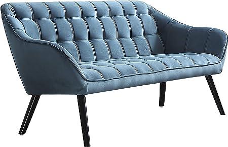 Sofá de tres plazas modelo Olden, inspirado en el diseño escandinavo, minimalista y elegante, dispon