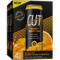 Hydroxycut Energy Drink + Weight Loss, Sparkling, Sugar Free, Zero Calories, Metabolism Booster, Orange Mango Pineapple…