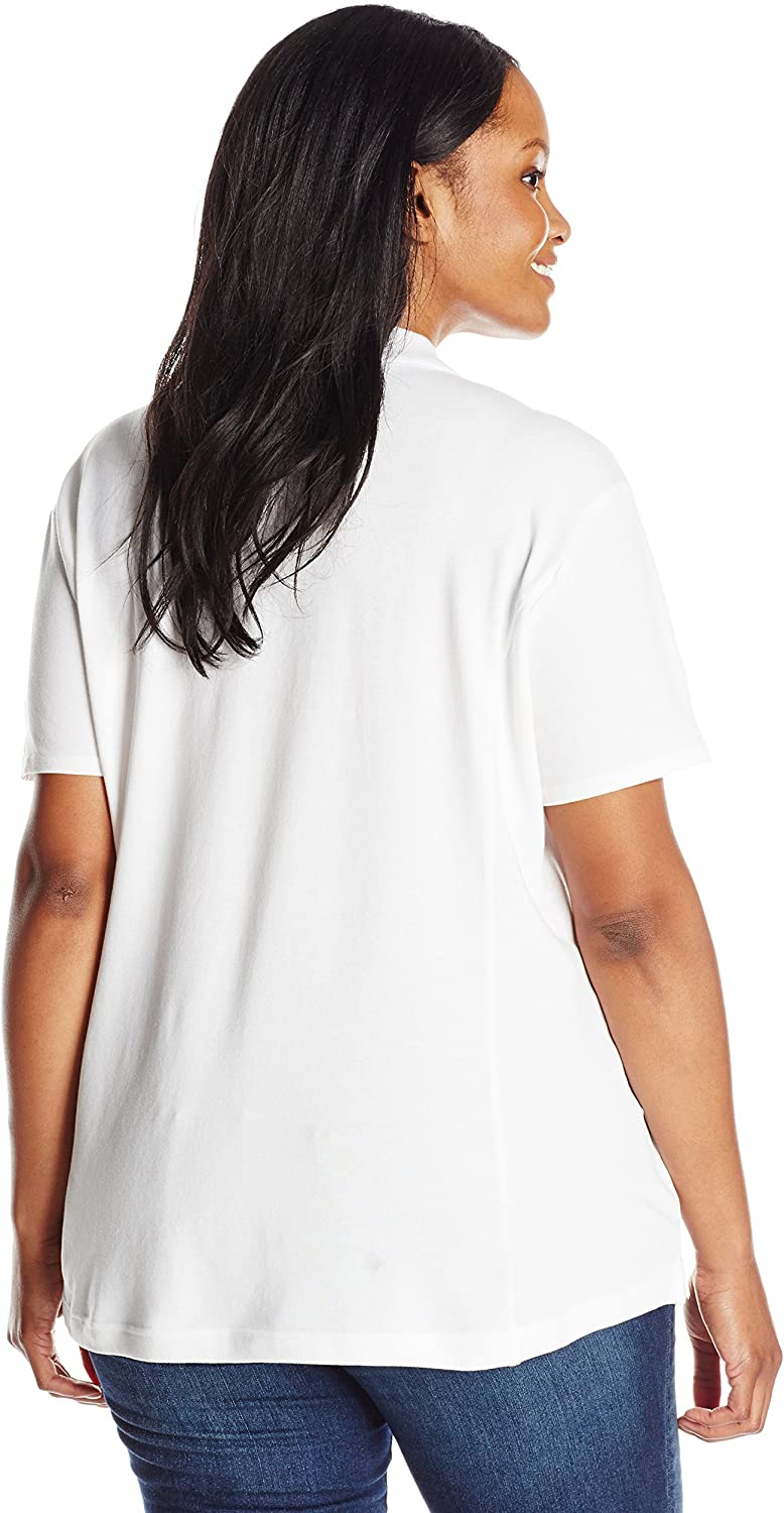 Riders by Lee Indigo Women's Plus Size Morgan Short Sleeve Polo Shirt at  Women's Clothing store