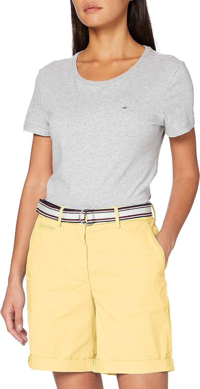 Tommy Hilfiger Damen GMD Cotton Tencel Bermuda Slim Jeans