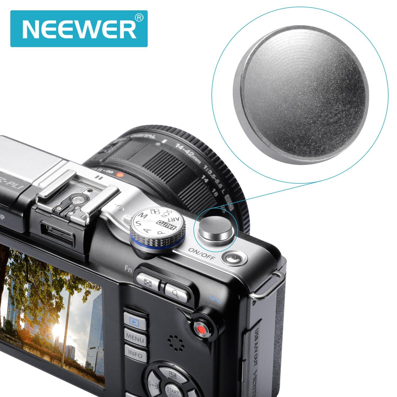 Bestdealuk concave metal Soft Shutter Release Button for Fujifilm X100 Leica M6 M8 M9 sa Neewer