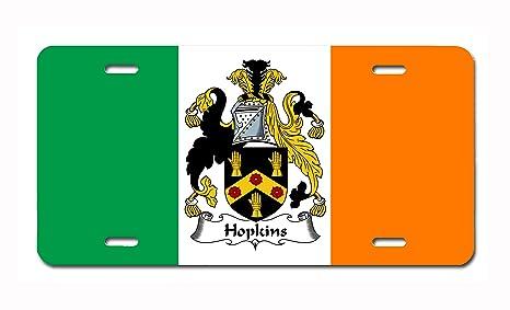 Amazon.com: Hopkins Escudo de armas/Familia de Hopkins Crest ...