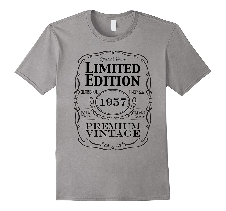 60th Birthday Gift T-Shirt - Born in 1957 Turning 60 Shirt-Art