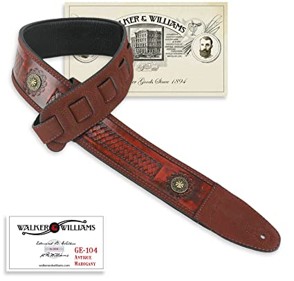 Amazon.com: Walker & Williams ge-104 latón de caoba ...