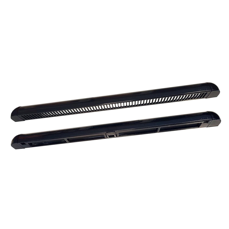 Premium Trickle Slot Vent for uPVC Double Glazing Window - Reduces Condensation Black 400mm RW Simon
