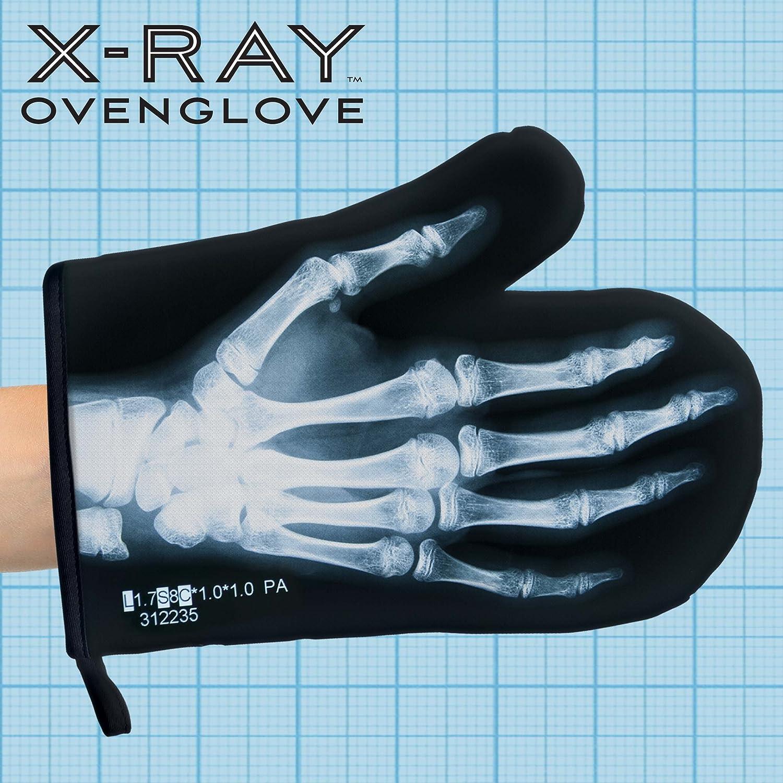Amazon.com: Mustard Oven Mitt Glove - Black X-Ray: Home & Kitchen
