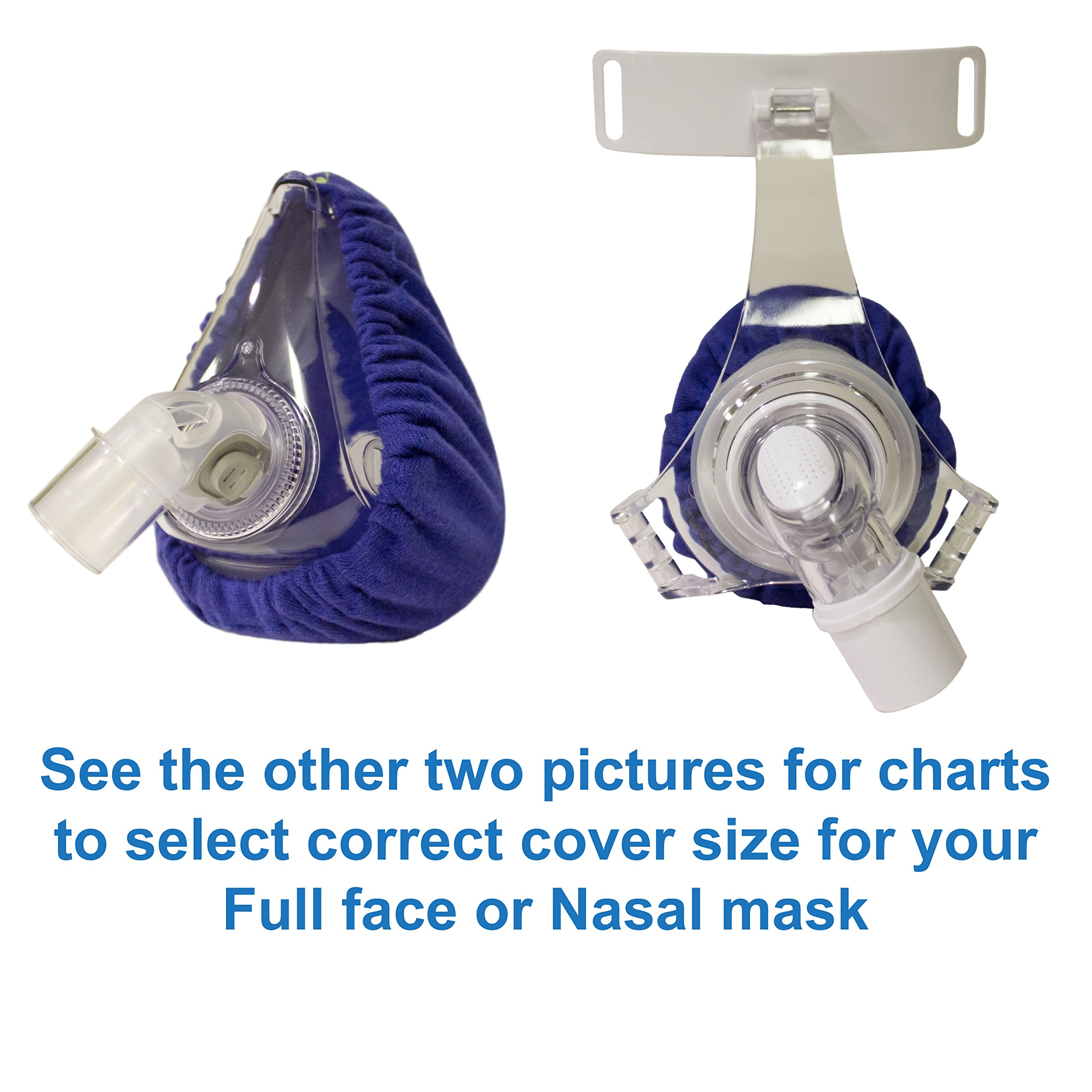 CPAP Mask Liners - Reusable Comfort Covers (#7590)