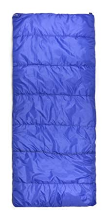 Trailside Treeline 3 Rectangular Synthetic 14-Degree Sleeping Bag, Blue