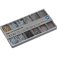 Metafranc assortimentsdoos – voorgesorteerde onderdelen in praktische kunststof doos – geschikt voor huis, werkplaats…