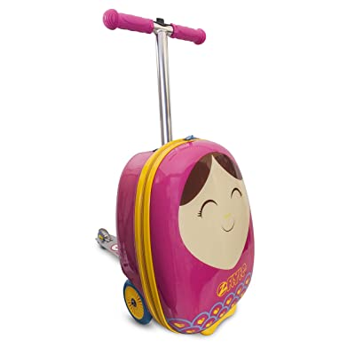 "ZincFlyte Kid's Luggage Scooter 18"" - Betty: Toys & Games"