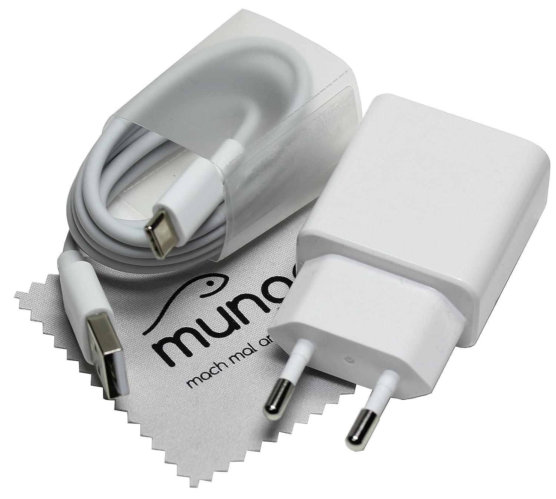 Cargador Rapido para original Huawei HW-059200EHQ 2A QC + cable de carga tipo-C USB para Huawei P20 (Lite/Plus), P10 (Plus), P9 (Plus), Mate 20 ...