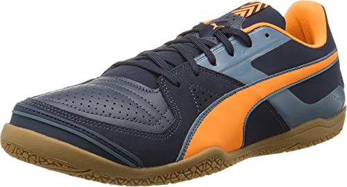 af38ea276744 Puma Invicto Sala - Total Eclipse Lava Blast Tapestry Blue 11  Buy Online  at Low Prices in India - Amazon.in