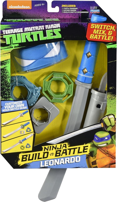 Teenage Mutant Ninja Turtles Build N Battle Leonardo Role Play